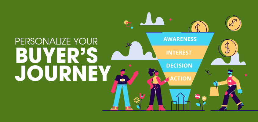 Personalize your buyer's journey