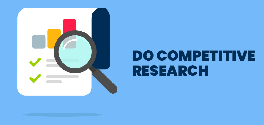Do competitive research